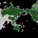 Map of APEC (Courtesy of Wikipedia)