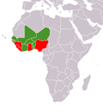 (Courtesy of Wikipedia - Countries in green)